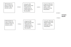 Workflow diagram for Module 1 exercise